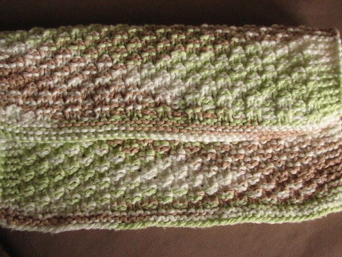 Reversible box stitch fabric