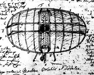 Swedenborgs Flying Machine (via Thomas Roche)