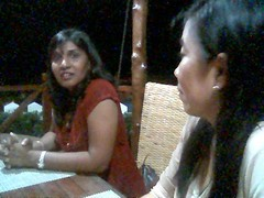 Lily and Santhi