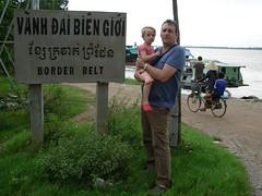 Tash Roo on VN border