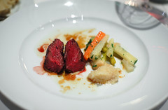 7th Course: Grilled River Ranches Beef Ribeye Cap