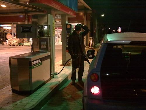 Fylle bensin