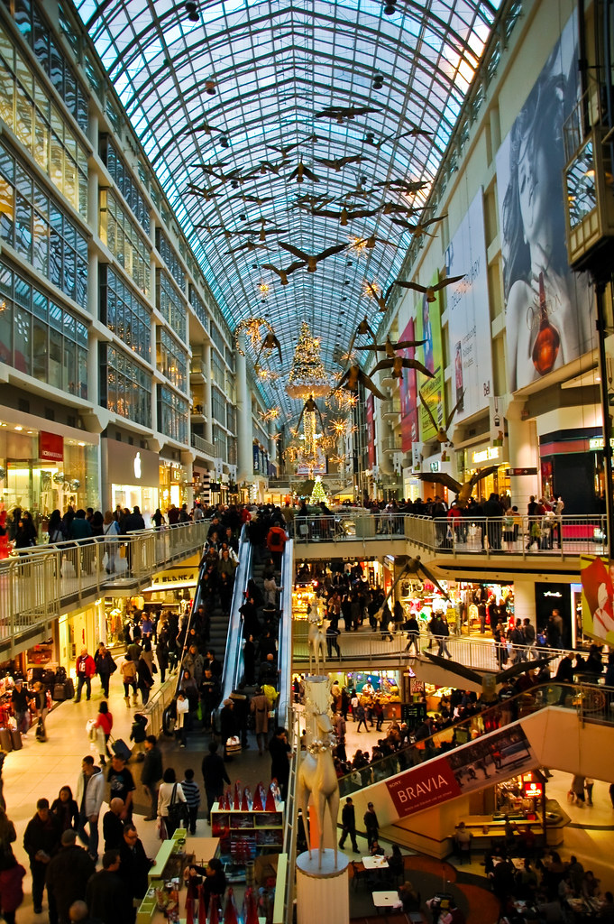 Eaton's Center Christmas 1 by lytfyre, on Flickr