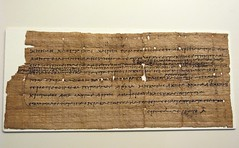 Papyrus in Greek regarding tax issues (3rd ca. BC.)