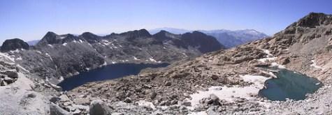 Ibones de Cregüeña y del pico Bondidier