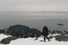 Eagle Bluffs snowshoe, 22 Mar 2008