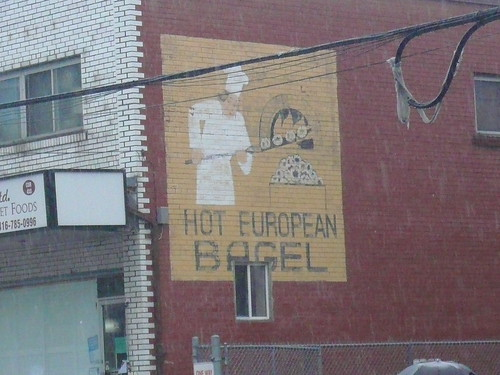 """Hot European Bagel"""