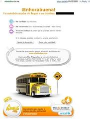 ING Direct Espana UNICEF Autobus Viral Email