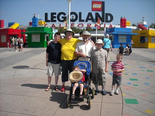 Family at Legoland