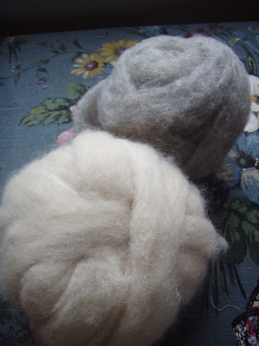 alpaca and grey sheep.JPG