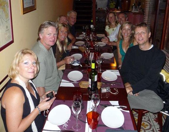 Dinner in Girona