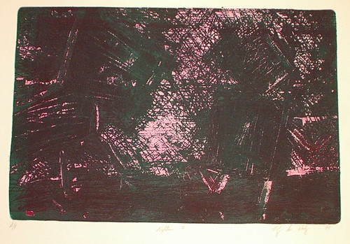 nightmare etching (intaglio)