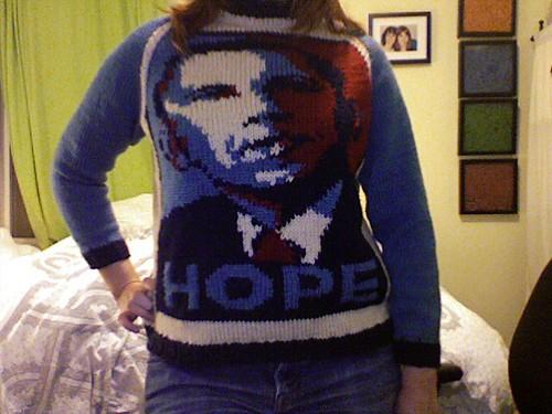 obama sweater