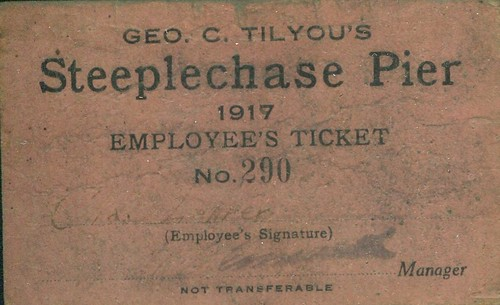 Dad's Employee Pass to Steeplechase