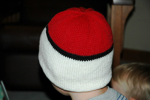 Very Warm Pokeball Hat