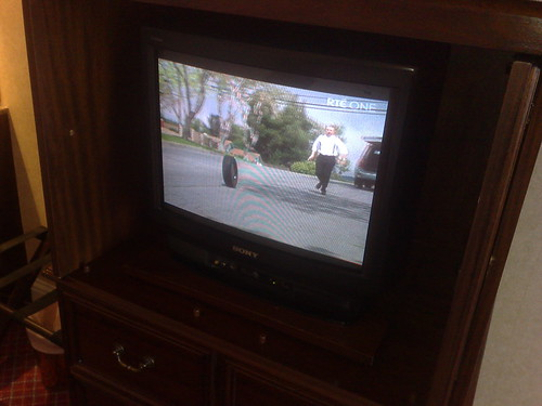 Burlington Hotel TV