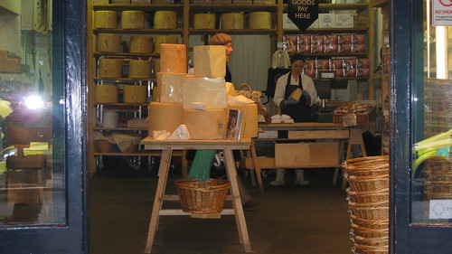 Neal's Yard Dairy, English Cheese in Borough Market
