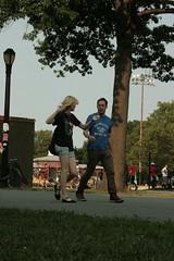 Talking while walking