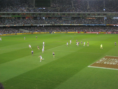 Carlton Blues vs North Melbourne Kangaroo's