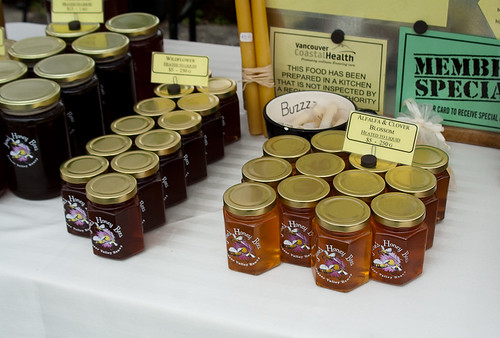 Kitsilano Farmers Market: Honey