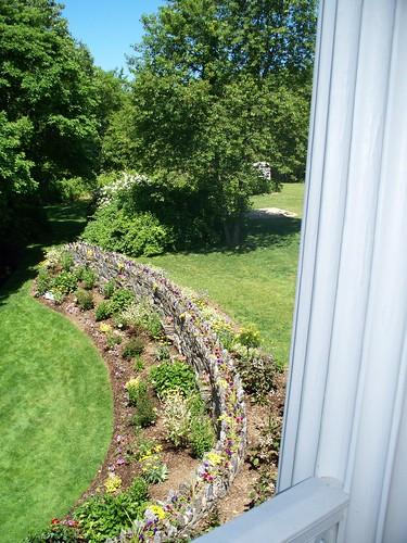 Garden Wall From Veranda