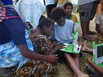 OLPC Papua New Guinea: Drek - Photo : One Laptop per Child