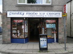 Freshly Made Ice Cream