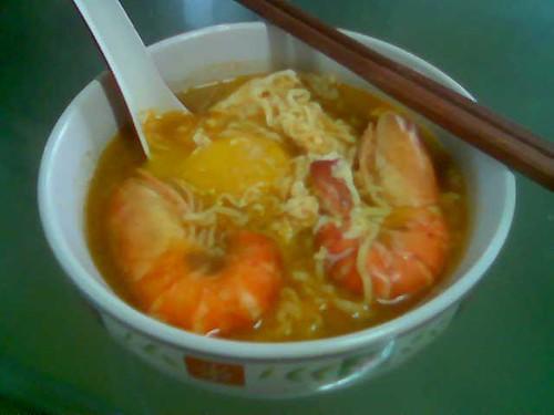 STP's instant noodles