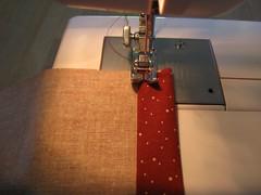Sew the top hems