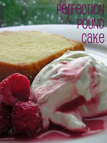 perfection pound cake