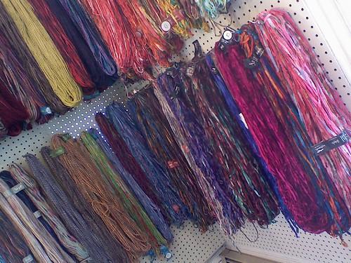 yarn at cranberry fiber arts