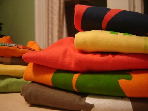 stenciled shirts