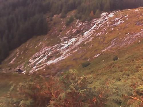 waterfall glendalough and Wicklow