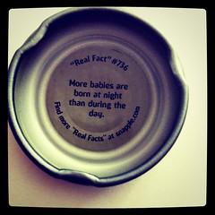 #snapple #cap #fact