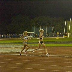 Smith and Flanagan 10,000m duel