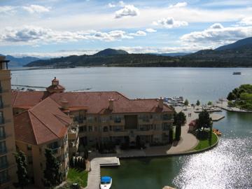 View from Grand Okanagan, Kelowna BC