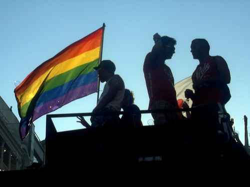 bandera, Madrid pride 2008