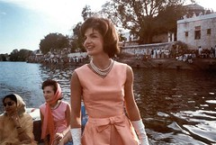 Mrs. Kennedy's trip to India. Udaipur, Rajasth...