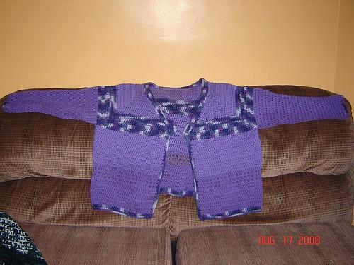Sweet Sweater Turned Cardi