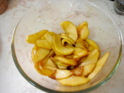 Caramelised Apples