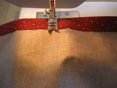 Sewing the Side seams I