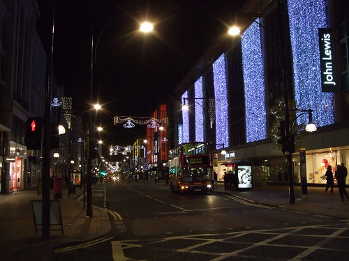 Go to Oxford Street when it's quiet