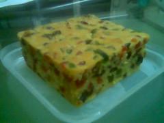 Pollie's homemade fruit cake