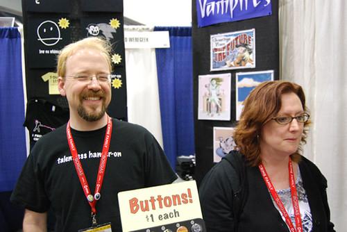 Little Vampires James and Rebecca Hicks