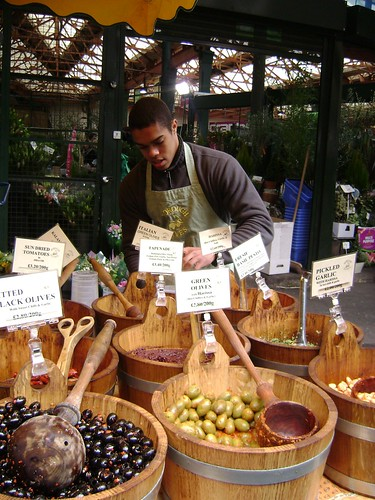 Olives at Borough Market