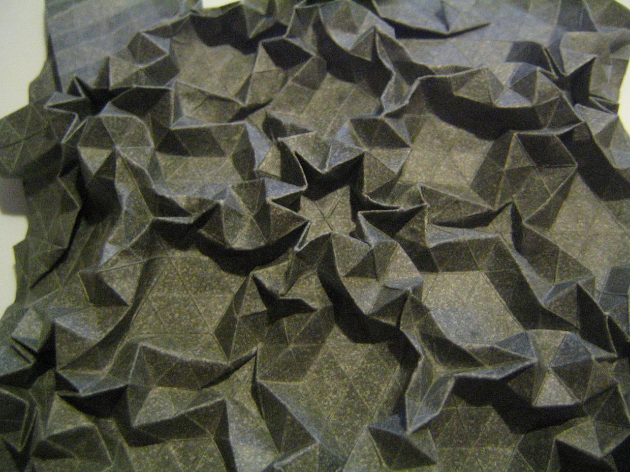 Trigonal Pattern Detail