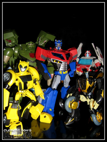 Transformers Animated Autobots