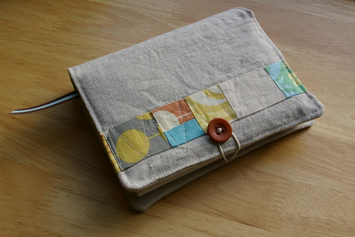 Linen Covered Notebook by you.