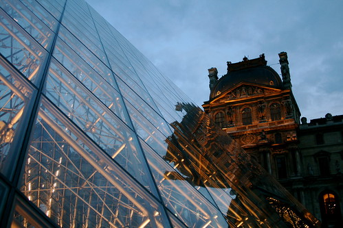 Pyramid & the Louvre