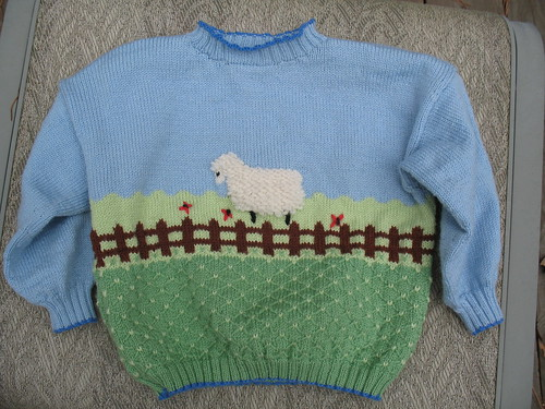 Bubby's Sheep Sweater